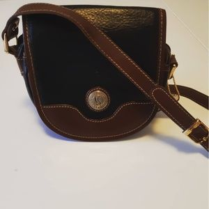 Black and Brown Chenson Crossbody